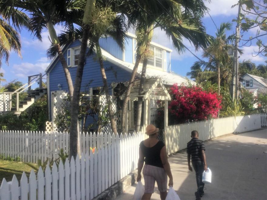 Bahamas Hope Town Street