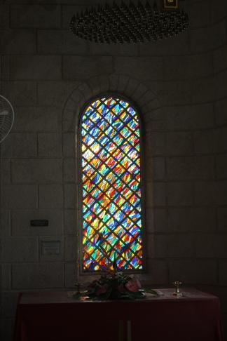Barbados Church Window