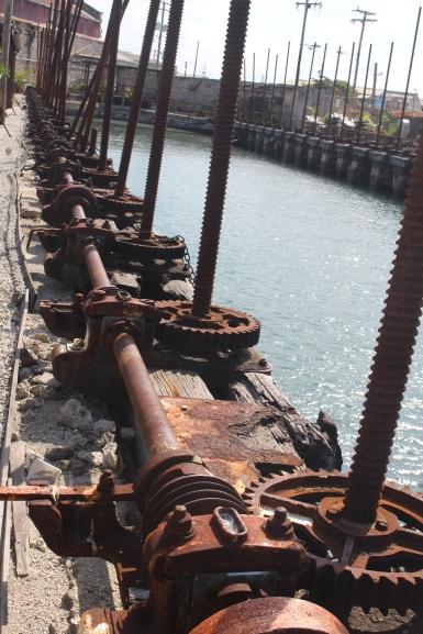 Barbados Screw Dock