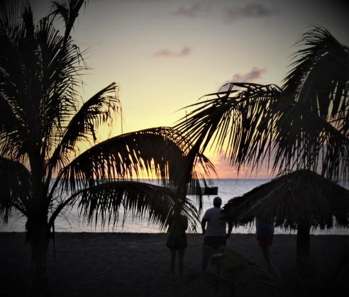 Carib Nevis Sunset