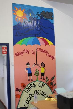 Cocos Keeling Mural