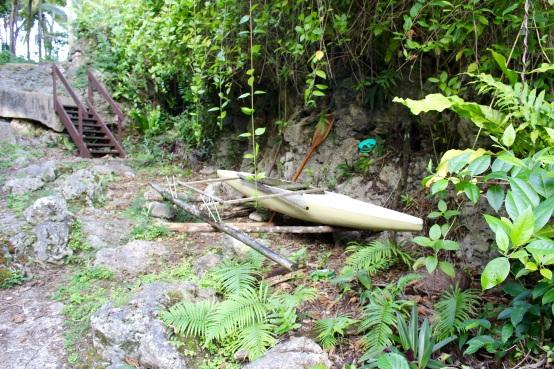 Niue Canoe
