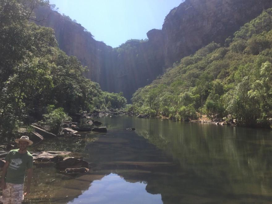 Oz Jim Jim Falls