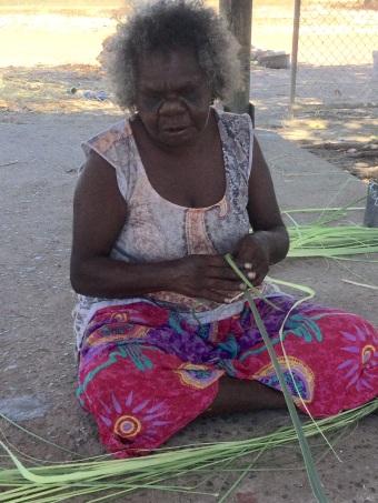 Oz Pandanus Weaving
