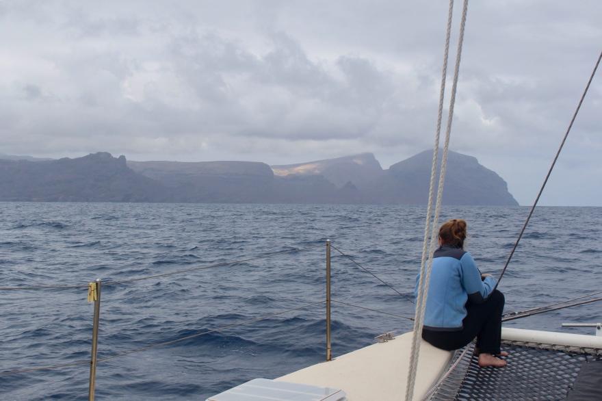 South Atlantic St Helena Approach
