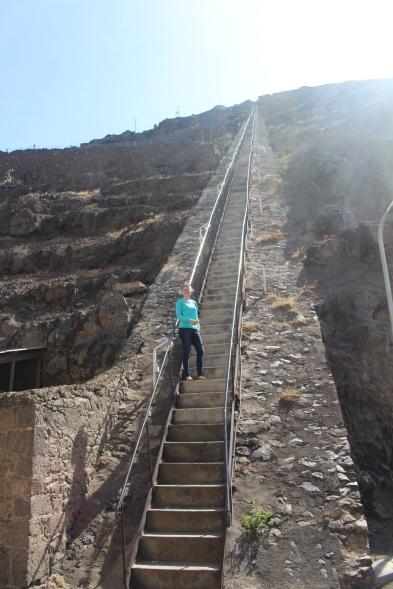 South Atlantic St Helena Steps