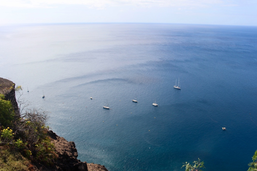 South Atlantic St Helena View