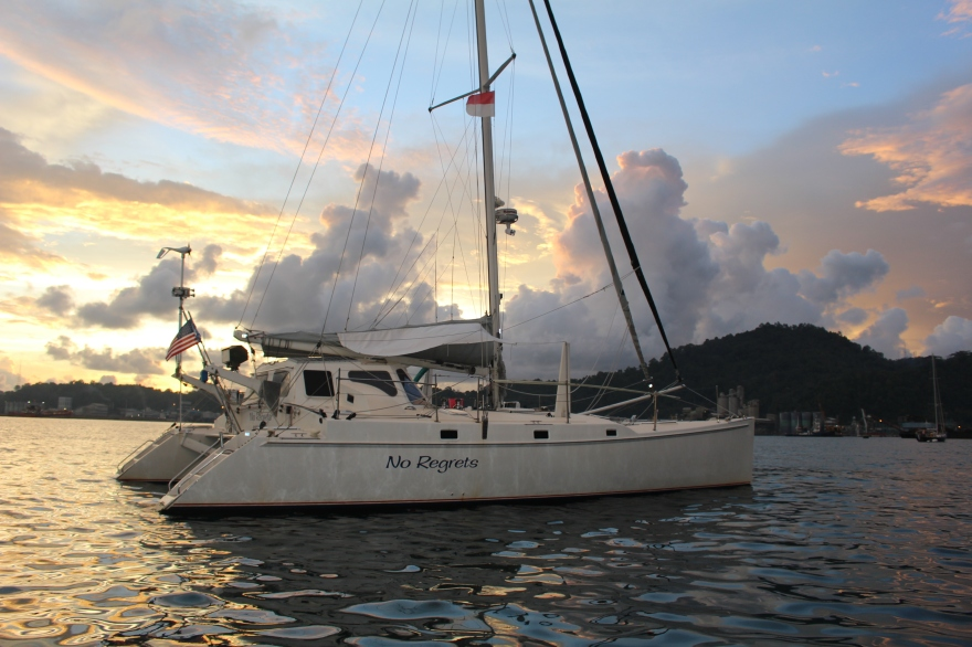 Sumatra Padang Anchorage