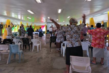 Tuvalu Dance in Place