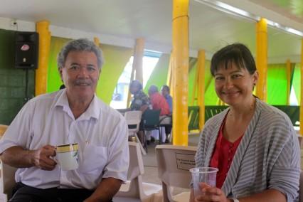 Tuvalu PM Tea