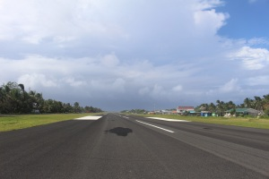 Tuvalu Runway