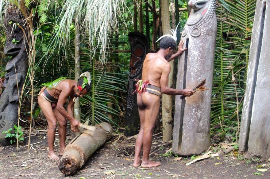Vanuatu Ambrym Drummers