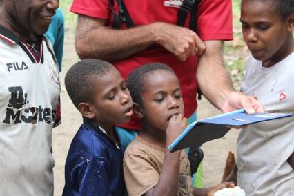Vanuatu Tisvel Bob iPad2